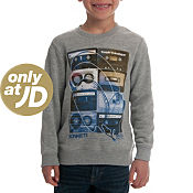 Sonneti Mini Analogue Crew Sweatshirt Childrens