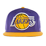 Mitchell & Ness NBA Los Angeles Lakers Underbill Snapback Cap