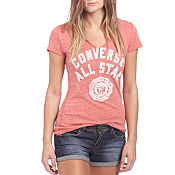 Converse All Star Crest V-Neck T-Shirt