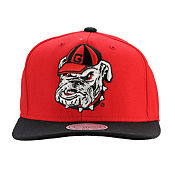 Mitchell & Ness NCAA Georgia Bulldogs Snapback Cap