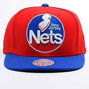 Mitchell & Ness NBA New Jersey Nets Snapback Cap