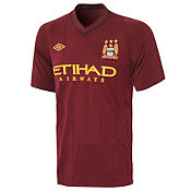 Umbro Manchester City Away Shirt 2012/13