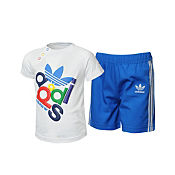 adidas Originals T-Shirt and Short Set Childrens/Infants