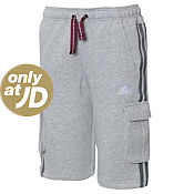 adidas Fleece Cargo Shorts Junior