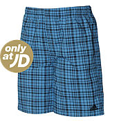 adidas Check Swimming Shorts Junior