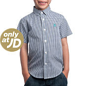 Original Penguin Plaid Short Sleeve Shirt Childrens