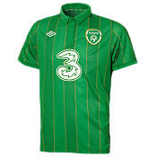 Umbro EIRE Home Shirt 2011/12