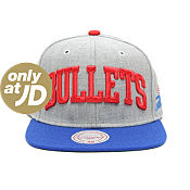Mitchell & Ness NBA Washington Bullets Snapback Cap