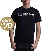 Fred Perry Laurel Linear T-Shirt