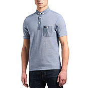 Fred Perry Chambray Trim Polo Shirt