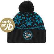 Mitchell & Ness NHL San Jose Sharks Alpine Bobble Hat