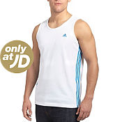 adidas 3 Stripe Essentials Vest