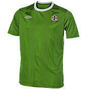 Umbro Northern Ireland Home Shirt 2010/11