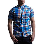 Fred Perry Poplin Madras Check Shirt
