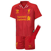 Warrior Sports Liverpool Infant Home Kit 2013/14 PRE ORDER