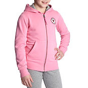 Converse Girls Full Zip Hoody Junior