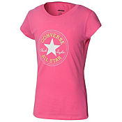 Converse Girls Chuck Logo T-Shirt Junior