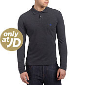 Original Penguin Long Sleeve Pocket Polo Shirt