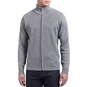 Lacoste Full Zip Knit Cardigan