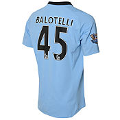 Umbro Manchester City Home Shirt Mario Balotelli