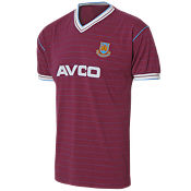 Score Draw West Ham United 1986 Home Retro Shirt