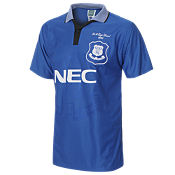 Score Draw Everton 1995 Home Retro Shirt