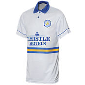 Score Draw Leeds United 1994 Home Retro Shirt