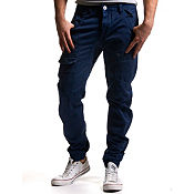 Eto Self Cuff Arc Fit Chinos