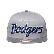 New Era MLB LA Dodgers Team Script Snapback Cap