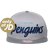 New Era NHL Pittsburgh Penguins Team Script Snapback Cap