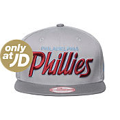 New Era MLB Philadelphia Phillies Team Script Snapback Cap