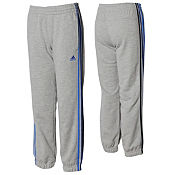 adidas Essentials 3 Stripe Track Pants Junior