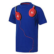 adidas Originals Headphones Graphic T-Shirt Junior