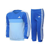 adidas 3 Stripe Jogging Suit Infants/Childrens