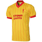 Score Draw Liverpool Away 1982 Retro Shirt