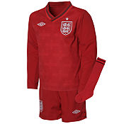 Umbro England Goalkeeper Home Kit 2012 Childrens