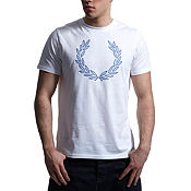 Fred Perry Applique Laurel T-Shirt
