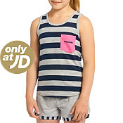 McKenzie Girls Flora Pocket Vest Junior