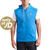 Nike Premium Sleeveless Full Zip Hoody