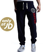 Duffer of St George Seal Logo Fleece Track Pants