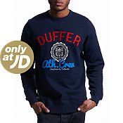 Duffer of St George Seal Logo Sweatshirt