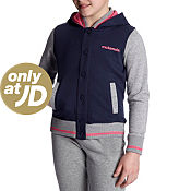 McKenzie Girls Daisy Fleece Hoody Junior