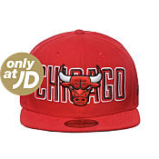 New Era MLB Chicago Bulls Bevel Pitch 9FIFTY Fitted Cap