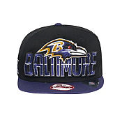 New Era NFL Baltimore Ravens 9FIFTY Draft Snapback Cap