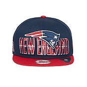New Era NFL New England Patriots 9FIFTY Draft Snapback Cap