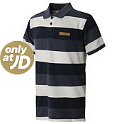 McKenzie Woodstock Stripe Polo Shirt Junior