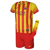 Nike Barcelona 2013/14 Childrens Away Kit PRE ORDER