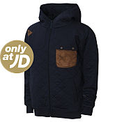 Eto Quilted Full Zip Hoody Junior