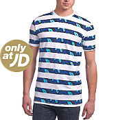 Dirty Cash Life Stripe T-Shirt