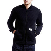 Jack & Jones Accent Full Zip Quilted Track Top